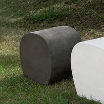 Pouf moderno / in cemento / da giardino