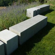 Panca da giardino / moderna / in calcestruzzo