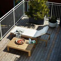 Prendisole moderno / in teak / da giardino / moderni schienali regolabili