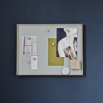 Tabellone magnetico / da parete / in quercia