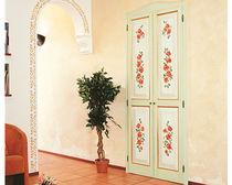 Porta interna / battente / in legno / in MDF