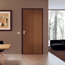 Porta d'ingresso / battente / in legno / in melamminico