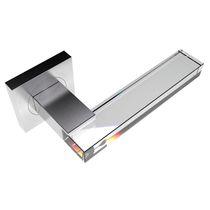 Maniglia per porta a vetri / in cristallo / moderna