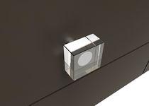 Maniglia per mobile in cristallo