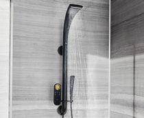 Set doccia da parete / moderno / con rubinetti digitali trasmissione senza fili