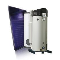 Bollitore a gas / solare / da appoggio / verticale