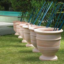 Vaso da giardino in terracotta / rotondo