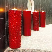 Vaso moderno / in ceramica / fatto a mano