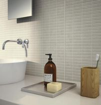 Piastrella da bagno / da cucina / da parete / in ceramica