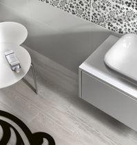 Piastrella da bagno / da parete / in ceramica / a tinta unita