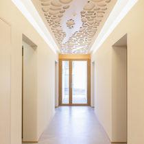 Pannello acustico per soffitto / in MDF / decorativo / professionale