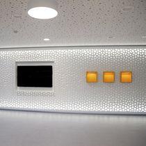 Pannello decorativo in MDF / da parete / retroilluminato / perforato