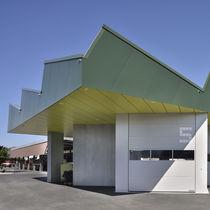 Rivestimento di facciata per facciata ventilata / in fibra di legno / in HPL / liscio