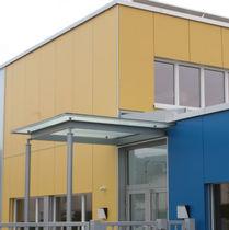 Rivestimento di facciata liscio / in pannelli / per facciata ventilata