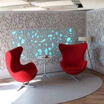 Pannello decorativo acustico / in HPL / per parete / retroilluminato