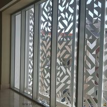 Frangisole in composito / in HPL / per facciata / per finestra