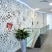 Pannello decorativo in MDF / per parete / perforato