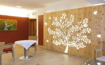 Pannello decorativo in legno / per parete / perforato