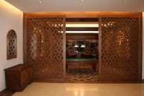 Pannello decorativo in MDF / per parete / perforato / paravista
