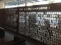 Pannello decorativo in MDF / per interni / perforato / paravista