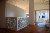 Ringhiera in legno / a pannelli / da interno / per scala