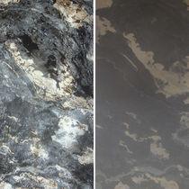 Pannello decorativo di rivestimento / in pietra naturale / da parete / per interni