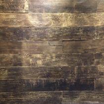 Pannello decorativo in teak / da parete / in materiale riciclato