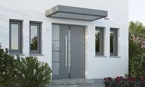 Pensilina da ingresso / in alluminio