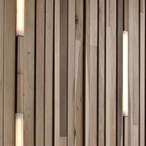 Paramento in legno / da interno / a rilievo