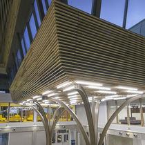 Paramento in legno / indoor