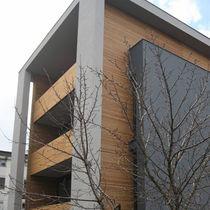 Paramento in legno / da esterno / tinto