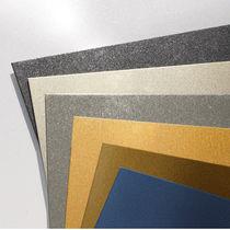 Rivestimento di facciata in acciaio / liscio / dipinto / lucido