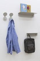Appendiabiti da parete moderno / in metallo / doppio