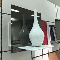 Mensola / moderno / in acciaio con rivestimento a polvere
