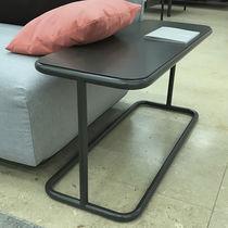 Tavolo d'appoggio moderno / in alluminio / in marmo / rettangolare