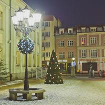 Decorazioni natalizie luminose per spazio pubblico