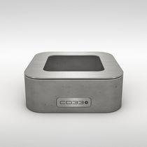 Portacenere in acciaio inossidabile / in calcestruzzo / per uso domestico