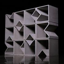 Scaffale modulare / moderno / in calcestruzzo