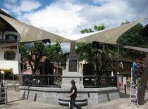 Tendone parasole in tela / per spazio pubblico / per parco giochi / per parcheggio