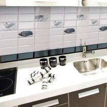 Piastrella da cucina / da parete / in ceramica / motivo di cucina