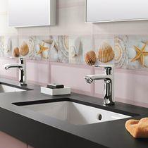 Piastrella da bagno / a muro / in ceramica / motivi natura