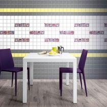 Piastrella a muro / in ceramica / multicolore / lucida
