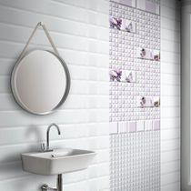 Piastrella da bagno / a muro / in ceramica / a tinta unita