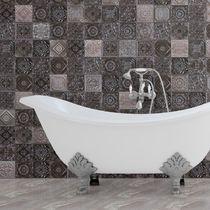 Piastrella da bagno / a muro / in ceramica / a motivi