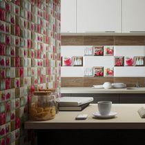 Piastrella da cucina / a muro / in ceramica / geometrica
