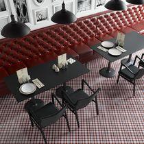 Piastrella per pavimento / in ceramica / motivi geometrici / lucida