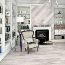 Piastrella per pavimento / in ceramica / liscia / satinata