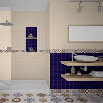 Piastrella per pavimento / da parete / in ceramica / a motivi