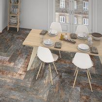 Piastrella aspetto parquet / per pavimento / in ceramica / liscia