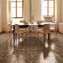 Piastrella per pavimento / in ceramica / motivi geometrici / liscia